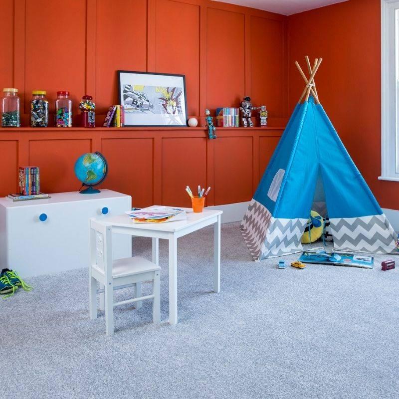 Cormer Carpet - Grey carpet in childrens room