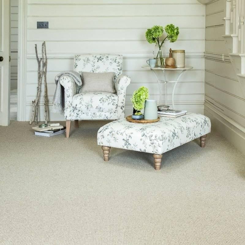 Cormer carpets furniture display armchair & stool