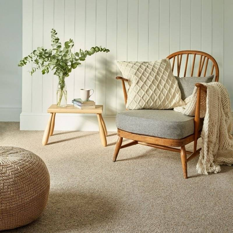 Cormer Carpets - wooden chair furniture display