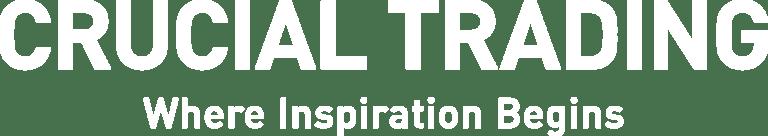 Crucial trading company logo and strapline
